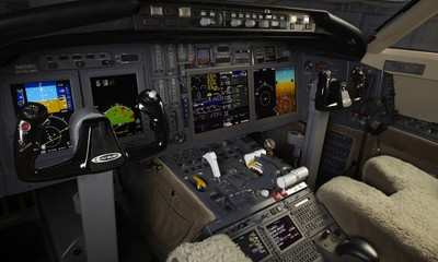 Ebace 2009 Rockwell Collins Starts Flight Testing Pro