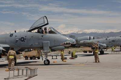Defense Secretary Examines Close-Air Support At Bagram ...